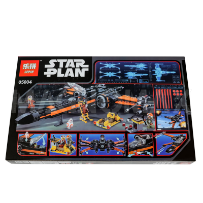 Конструктор Lepin 05004 / Star Wars Истребитель По (Poes X-Wing Fighter) (аналог LEGO 75102, 748 дет.) - 3