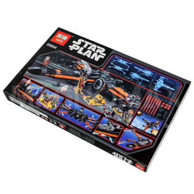 Конструктор Lepin 05004 / Star Wars Истребитель По (Poes X-Wing Fighter) (аналог LEGO 75102, 748 дет.) - 4
